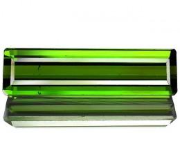 2.22 Cts Natural Neon Green Tourmline Nigeria Gemstone 1$ NR