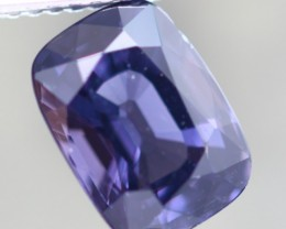 3.46Cts Unheated Sri Lanka Cushion Cut Silver Blue Spinel