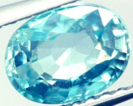 BLUE ZIRCON FACETED STONE 2 CTS PG-923