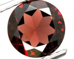 BURGUNDY RED GARNET FACETED 2.2  CTS TBG-804