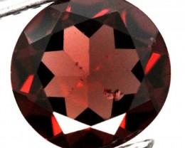 BURGUNDY RED GARNET FACETED 1.9  CTS TBG-8.6