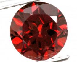 BURGUNDY RED GARNET FACETED 2.5  CTS TBG-809
