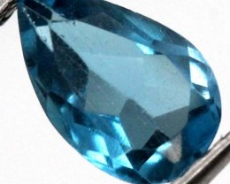 BLUE TOPAZ  NATURAL STONE FACETED 1.5  CTS TBG-822