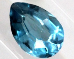 BLUE TOPAZ  NATURAL STONE FACETED  1.7 CTS TBG-830