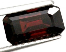 BURGUNDY RED GARNET FACETED 3  CTS TBG-845