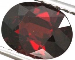 BURGUNDY RED GARNET FACETED  2 CTS TBG-847