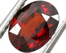 2 cts BURGUNDY RED GARNET FACETED TBG-848