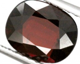 BURGUNDY RED GARNET FACETED  2 CTS TBG-850