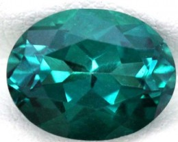 GREENISH BLUE TOPAZ  NATURAL STONE FACETED  4.3 CTS TBG-860