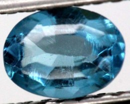 BLUE TOPAZ  NATURAL STONE FACETED 0.95  CTS TBG-863