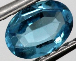 BLUE TOPAZ  NATURAL STONE FACETED  0.9 CTS TBG-867