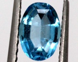 BLUE TOPAZ  NATURAL STONE FACETED 1.1  CTS TBG-869