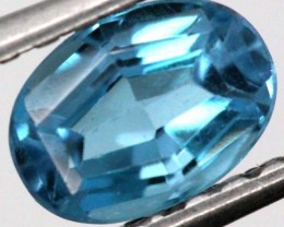 BLUE TOPAZ  NATURAL STONE FACETED 1.25  CTS TBG-870