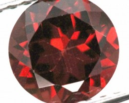 BURGUNDY RED GARNET FACETED 2.2  CTS TBG-881