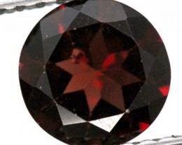 BURGUNDY RED GARNET FACETED  2 CTS TBG-882