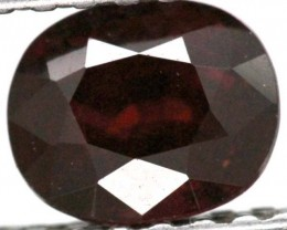 BURGUNDY RED GARNET FACETED 2  CTS TBG-883