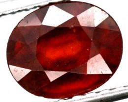 BURGUNDY RED GARNET FACETED 4  CTS TBG-884