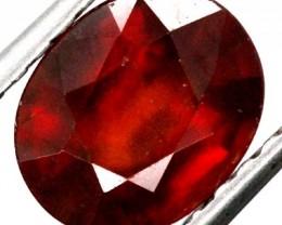 BURGUNDY RED GARNET FACETED 2  CTS TBG-885