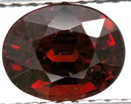 BURGUNDY RED GARNET FACETED 2  CTS TBG-887