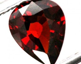 BURGUNDY RED GARNET FACETED  1 CTS TBG-891