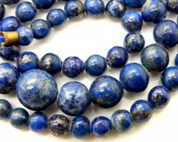 LAPIS BEADS DRILLED  NATURAL  175  CTS NP-371