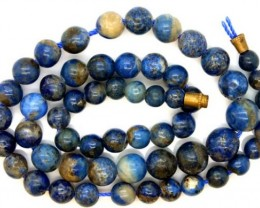 LAPIS BEADS DRILLED  NATURAL   155 CTS NP-374