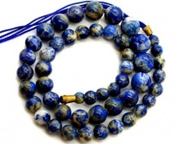 LAPIS BEADS DRILLED  NATURAL  160  CTS NP-377