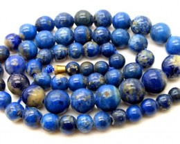 LAPIS BEADS DRILLED  NATURAL  145  CTS NP-379