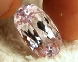21.32 Carat VVS1 Pink Himalayan Kunite - Gorgeous