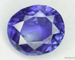 Rarest  0.75 ct Certified Blue Untreated Kashmir Sapphire Reduced frm $700