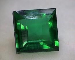 1.55ct Cushion Cut Emerald Green Obsidian GAT02