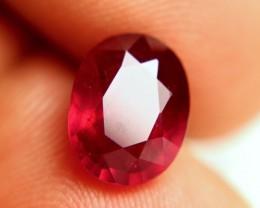 5.05 Carat Fiery Ruby - Beautiful Pigeon Blood Color