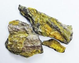 200 cts three Sturmanite / Etringite  specimens mygm 2040