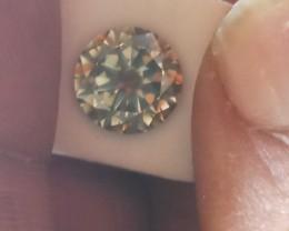 NATURAL-BIG SIZE.3.02CTW ,VERY RAREST CHAMELION  DIAMOND