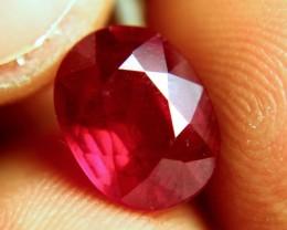 4.81 Carat Fiery Cherry Ruby - Gorgeous Gem