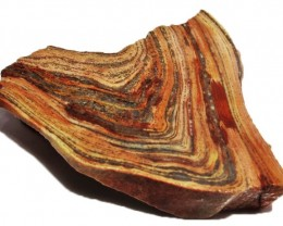 105.00 CTS SWIRL  RHYOLITE ROUGH SLAB MEXICO  [F4992]