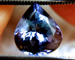 2.98 Carat VVS1 African Purple/Blue Tanzanite - Gorgeous
