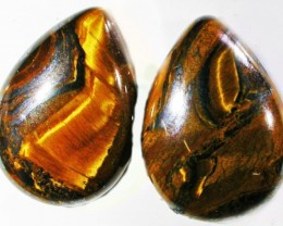 20.1 CTS TIGER EYE PARCEL  WITH HEMATITE -AUSTRALIA [ST8373]