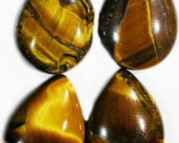 34.4 CTS TIGER EYE PARCEL  WITH HEMATITE -AUSTRALIA [ST8383]