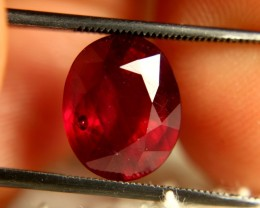 6.92 Carat VS2 Ruby - Fiery and Beautiful