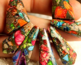 180 Carat Amalgamated Jasper Fan - Beautiful