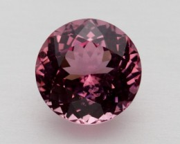 1.67ct Certified Pink Round Spinel (PG-62-19-MN)
