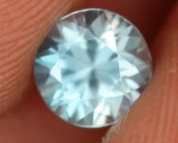 1.61 CTS DIAMOND CUT SKY BLUE ZIRCON - [ZIR20]