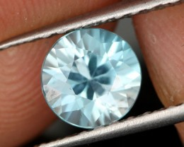 1.49 CTS DIAMOND CUT SKY BLUE ZIRCON - [ZIR21]