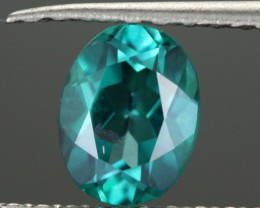 0.98 CTS EMERALD GREEN - SURFACE TREATED TOPAZ (TPZ27)