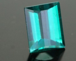 1.31 CTS EMERALD GREEN - SURFACE TREATED TOPAZ (TPZ30)