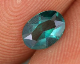 0.44 CTS EMERALD GREEN - SURFACE TREATED TOPAZ (TPZ38)