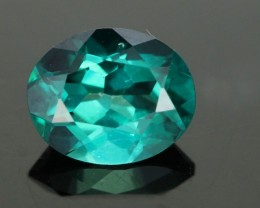 1.84 CTS EMERALD GREEN - SURFACE TREATED TOPAZ (TPZ39)