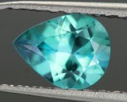 0.85 CTS EMERALD GREEN - SURFACE TREATED TOPAZ (TPZ40)