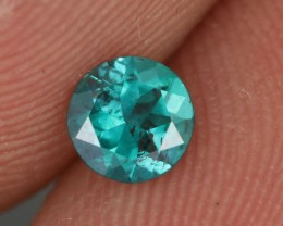 0.37 CTS EMERALD GREEN - SURFACE TREATED TOPAZ (TPZ44)